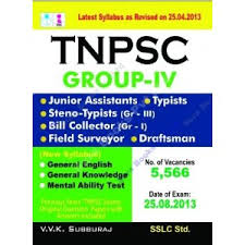General English and General Knowledge - tnpsc