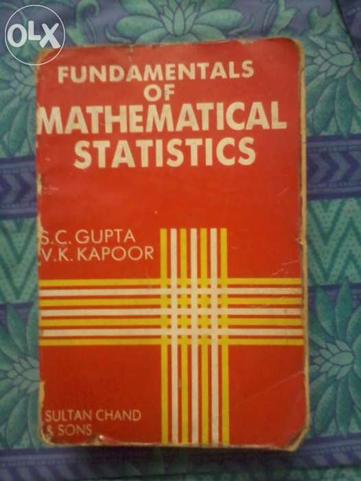 KapoorFundamentals of Mathematical Statistics