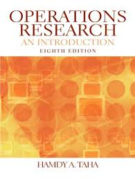 Operations Research, An introduction