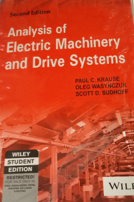 Analysis of Electric Machinery and �Drive Systems