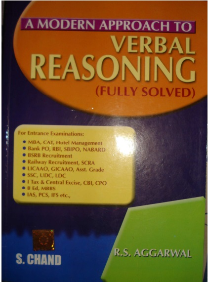 A Modern Approach to Verbal Reasoning - Fully Solved with Explained Notes